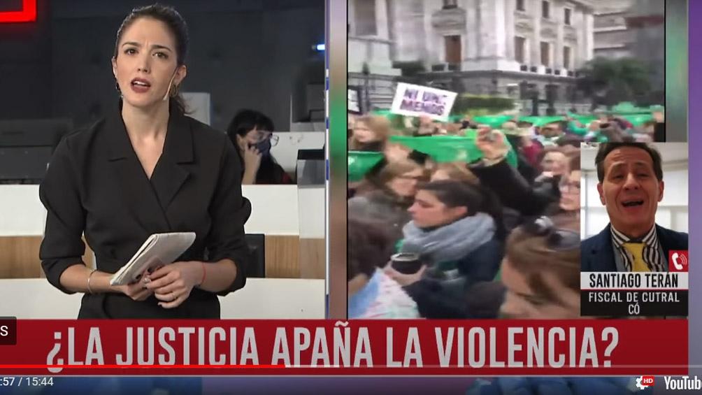 Lucila Trujillo acusó al fiscal neuquino Santiago Terán de «machismo explícito en TV»