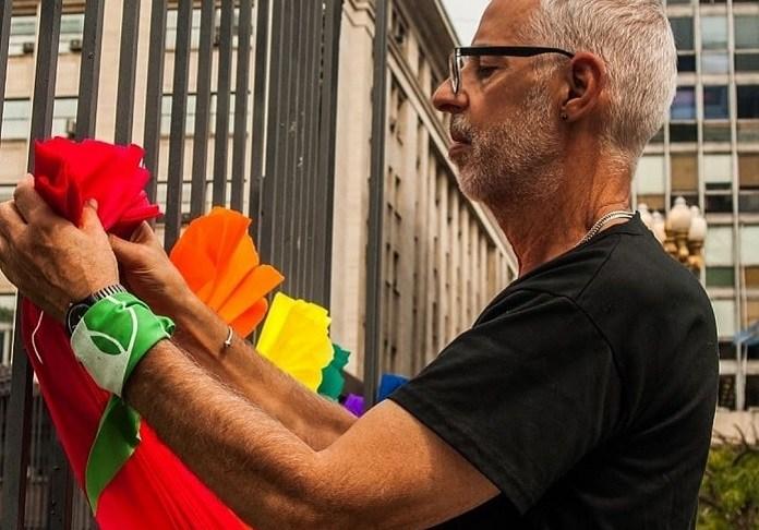 Falleció César Cigliutti, el hombre que hizo del orgullo su bandera