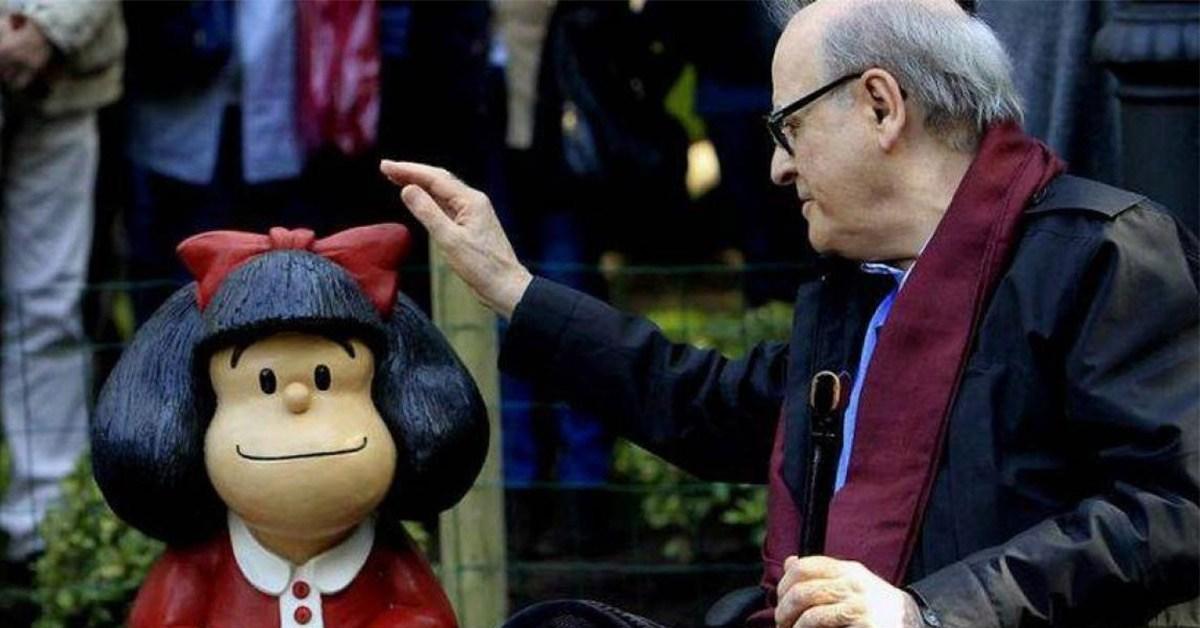 Tristeza: Murió Quino, el creador de Mafalda