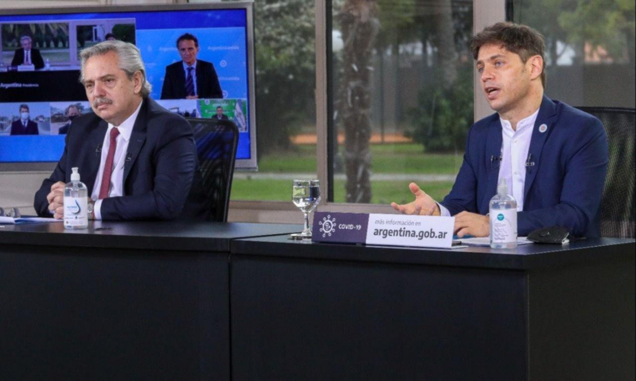 Kicillof le pedirá a Alberto Fernández que el AMBA pase del aislamiento al distanciamiento social