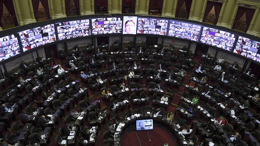 Diputados aprobó y envió al Senado el proyecto de Ley de Aporte Solidario y Extraordinario