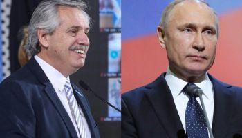 Alberto habló con Putín tras la publicación en The Lancet de la fase III de la Sputnik V