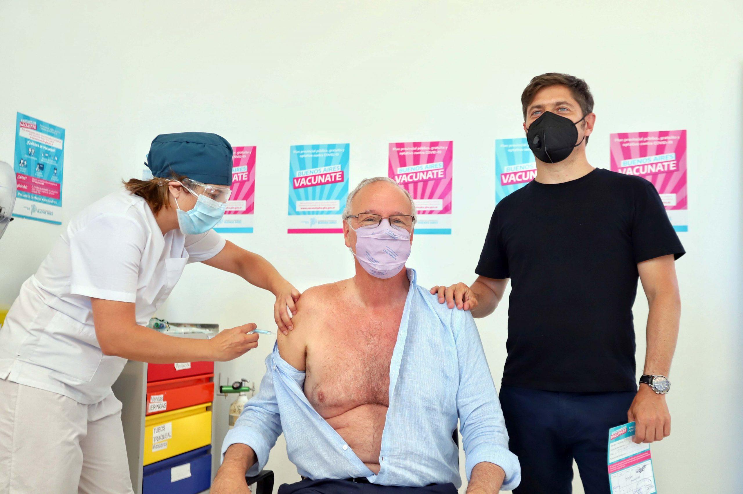 El gobierno bonaerense estima comenzar la vacunación masiva contra el coronavirus «la semana que viene»