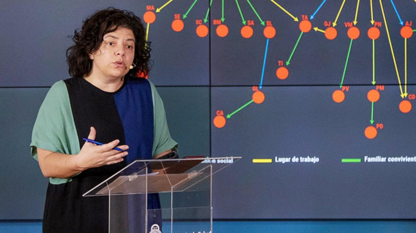 El Gobierno confirmó que se desaceleró el aumento de casos de coronavirus