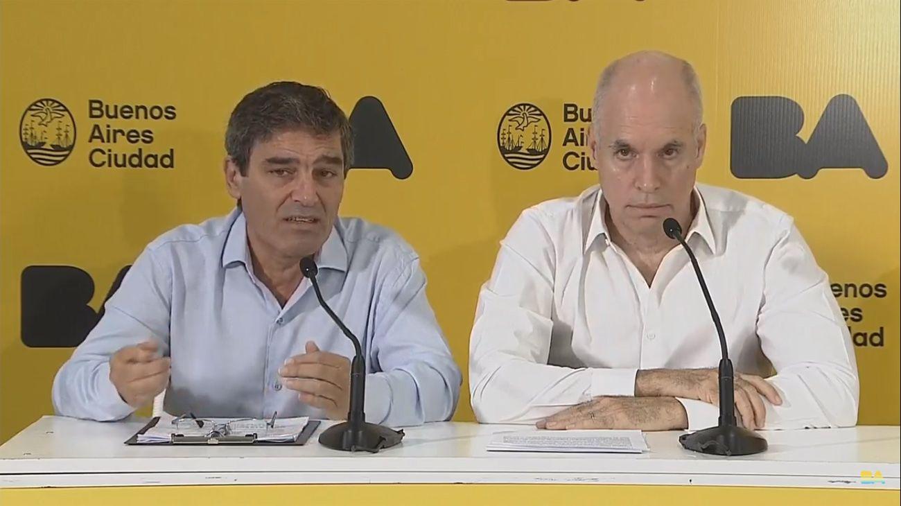 Denuncian a Fernán Quirós y a Horacio Rodríguez Larreta por «privatizar» la vacunación contra el Covid