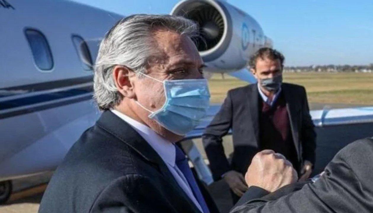 Alberto Fernández viaja a Chubut y anunciará medida tras los incendios