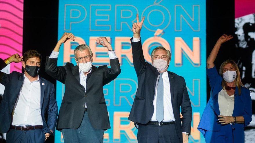 Alberto Fernández asumió en el PJ: «Si nos dividimos, los sinvergüenzas de siempre llegan al poder»