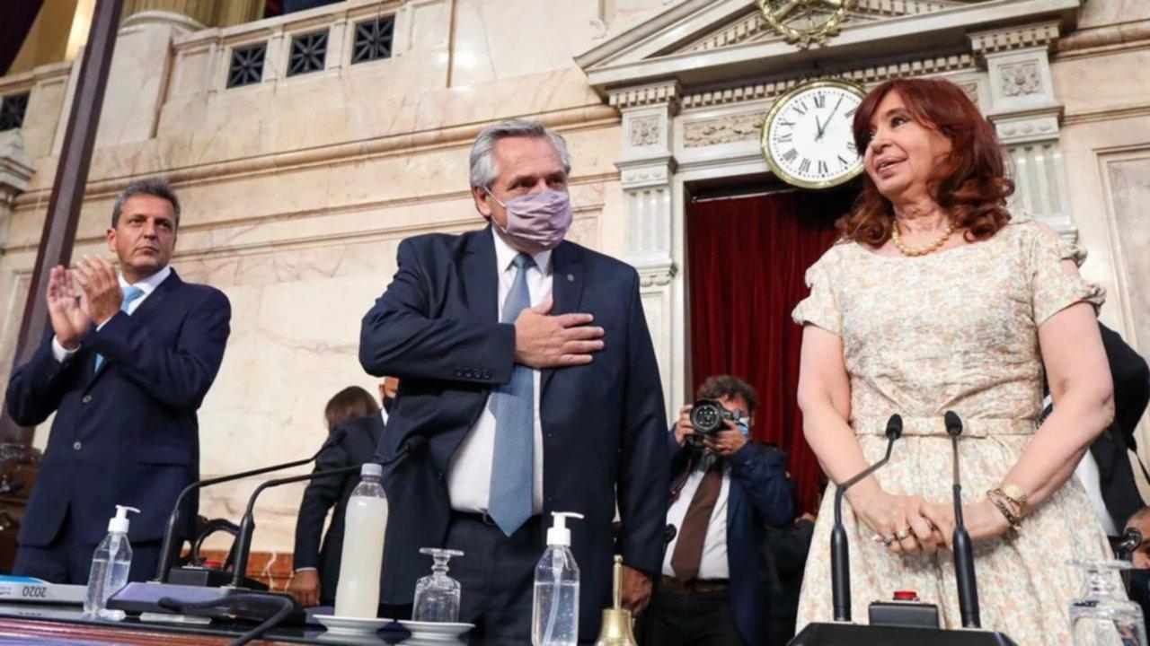 """Alberto Fernández, contundente: «Yo llegué con Cristina y me voy con Cristina"""""""