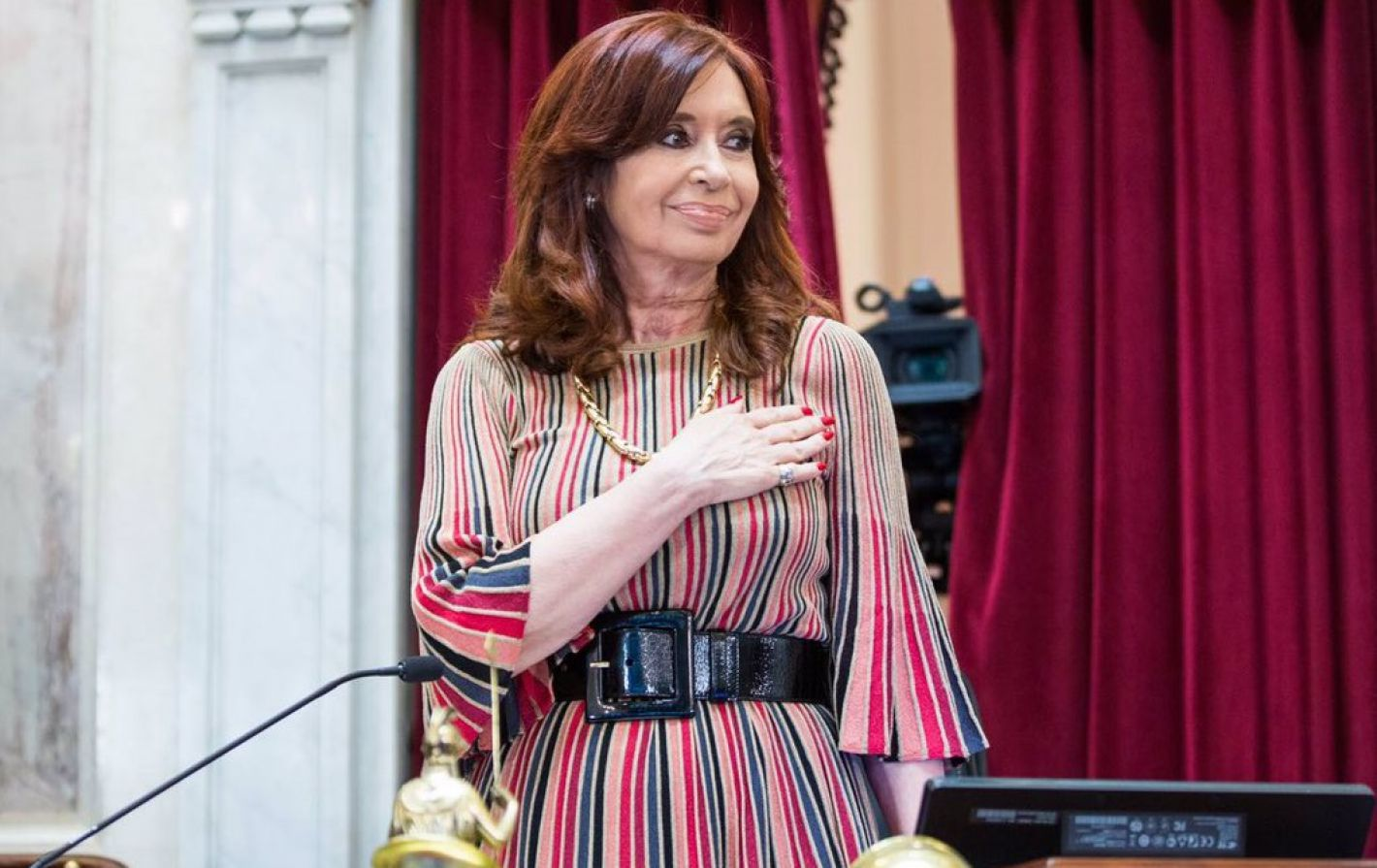 Cristina Fernández de Kirchner renunció al sueldo de vicepresidenta