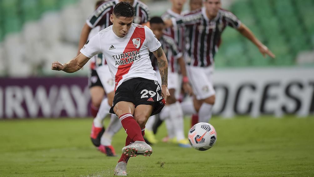 River empató con Fluminense en el Maracaná en su debut copero