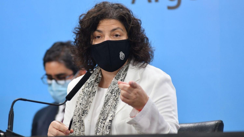 Vizzotti reveló que la fuerte suba de casos de coronavirus «impactó» en el Gobierno