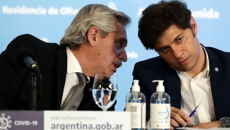 Por la disparada de casos por coronavirus, Kicillof y Fernández se reunieron de urgencia