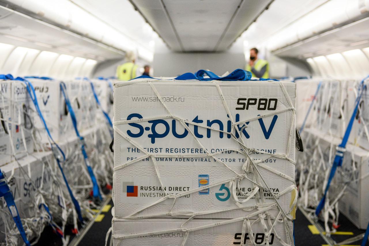 Llegan 500 mil Sputnik V y con este embarque Argentina supera las 12.000.000 de dosis