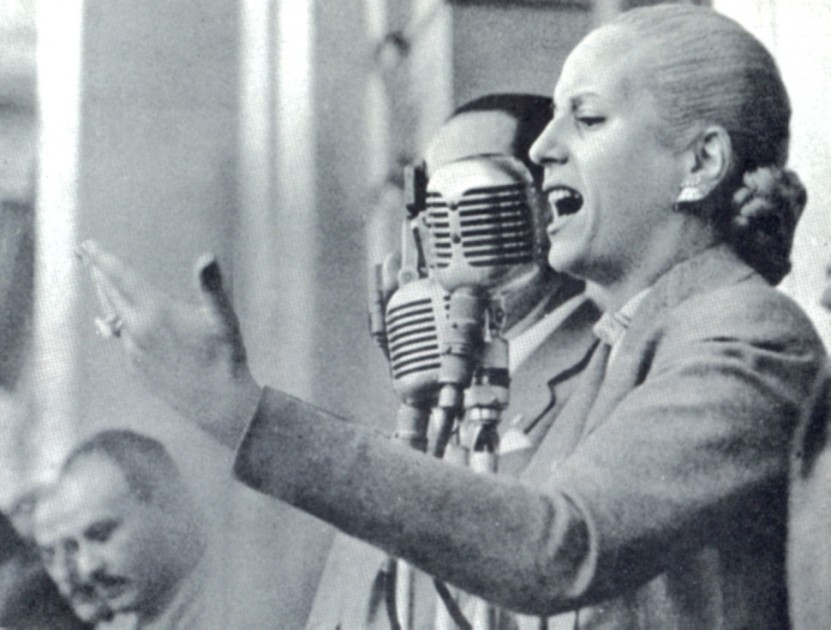102 años de Eva Perón: recorrido histórico con fotos inéditas de su vida
