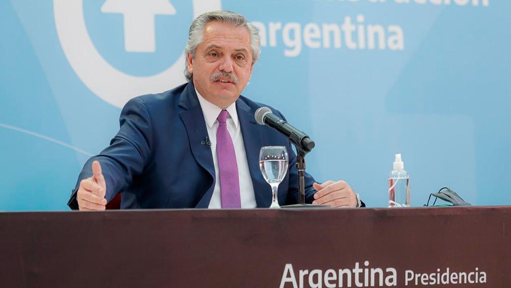 Alberto Fernández: «Vamos a ganar y demostrar que los argentinos nos acompañan»