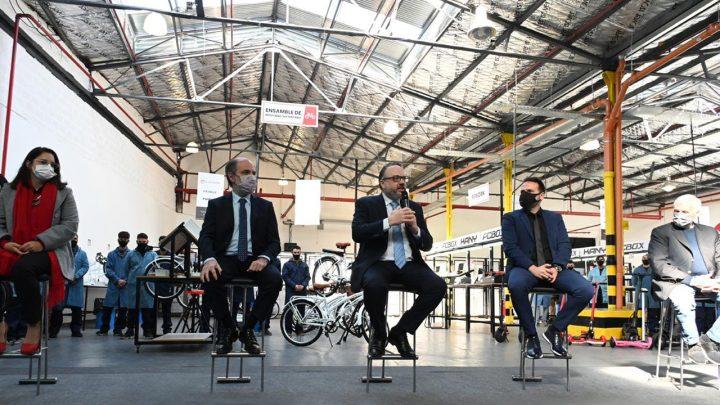 Kulfas lanzó el Programa de Promoción de Bicicletas Eléctricas, con el objetivo de producir 50 mil unidades por año