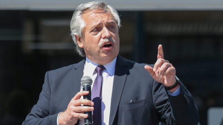 Alberto Fernández inaugura más de 100 obras públicas en todo el país