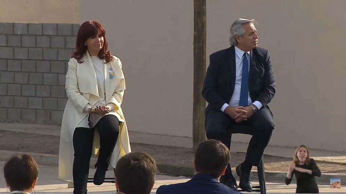Alberto y Cristina presentan un proyecto para la agroindustria