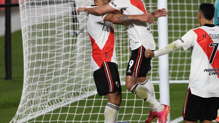 River jugó mejor y le ganó a Arsenal para seguir prendido en la Liga Profesional