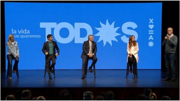 Elecciones 2021: Alberto Fernández cerró la campaña en Provincia y dijo que la mejor política económica «fue la vacuna»