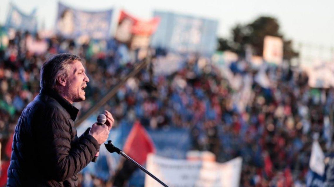 Máximo Kirchner: «Solo el pueblo va a salvar al pueblo y hay que hacerse cargo de la responsabilidad que le toca»