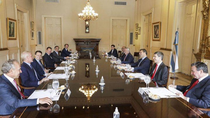 La creación de empleo genuino fue el eje de un diálogo entre el Presidente y empresarios